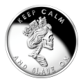 1 oz Slave Queen Silver Special BU Proof Round