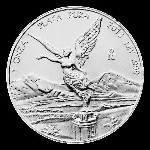 Pièce d'argent Libertad mexicaine 2013 de 1 once