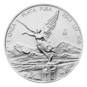 1 oz Silbermünze - mexikanische Libertad - 2013