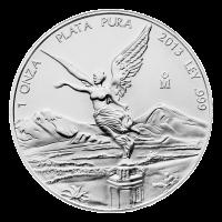 1 oz Silbermünze - mexikanischer Libertad - 2013