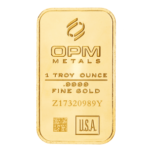 1 oz Ohio Precious Metals Gold Bar