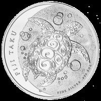 5 uns 2013 Fiji Taku Silvermynt
