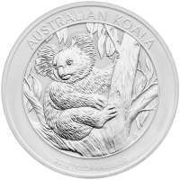 1 kg Silbermünze - australischer Koala - 2013