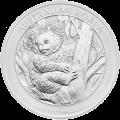 1 kg | Kilo Silbermünze australischer Koala 2013