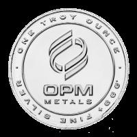 1 uns Ohio Precious Metals Silverrunda