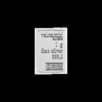 Morceau de CombiBar d'argent Valcambi de 1 gramme