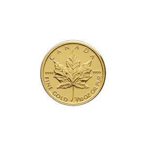 1/10 oz Random Year Canadian Maple Leaf Gold Coin