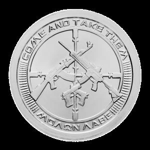 1 oz 2013 AG-47 Zilveren Plak