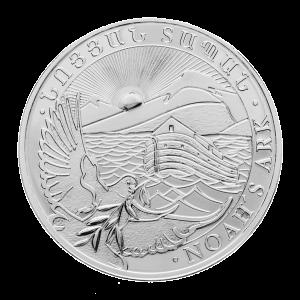 Pièce d'argent Arche de Noé arménienne 2013 de 1 once