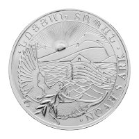 Moneta in argento 1 oz 2013 Armenia Arca di Noè