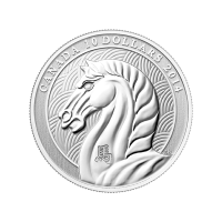 1/2 oz 2014 Royal Canadian Mint Year of the Horse Silver Coin