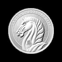 1/2 oz Silbermünze - Royal Canadian Prägeanstalt - Jahr des Pferdes - 2014