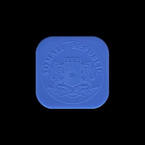 Leere Röhre für 1 oz somalische Elefanten Silbermünzen
