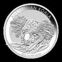 1 oz australische Silbermünze - Koala - 2014