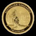 1 oz 2014 Australian Kangaroo Nugget Gold Coin