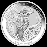 10 oz 2014 Australian Kookaburra Silver Coin