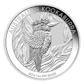 1 أوقية 2014 عملة فضية لطائر الكوكابورا الأسترالي