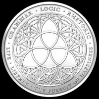 5 oz 2013 Trivium Silver Round