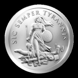 1 oz 2013 Sic Semper Tyrannis Silver Round