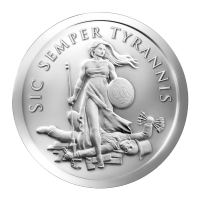 1 oz Silbermedaille - Sic Kemper Tyrannin - 2013