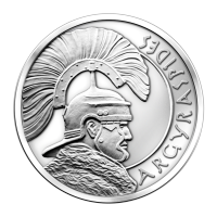 1 oz Silbermedaille - Argyraspides - 2013