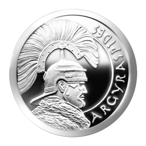 1 oz 2013 Argyraspides Silver Proof-like Round