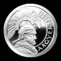 1 oz Silbermedaille - Argyraspides - 2013 Zustand: Spiegelglanz