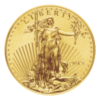 1 oz Goldmünze - amerikanischer Adler - Zufallsjahr