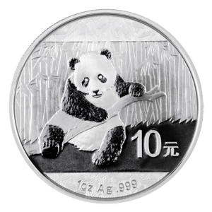 1 oz 2014 Chinese Panda Silver Coin