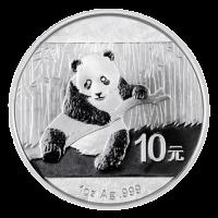 1 oz Silbermünze - chinesischer Panda - 2014