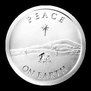 1 oz Silbermedaille - Frieden auf Erden - 2013