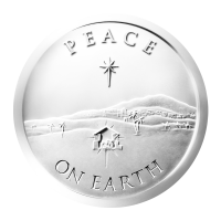 1 oz 2013 Peace on Earth Silver Round