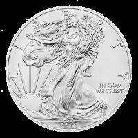 1 oz Silbermünze - amerikanischer Adler - 2014