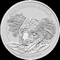1 kg Silbermünze - australischer Koala - 2014