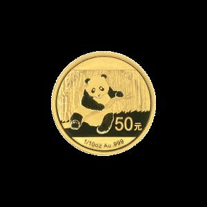 1/10 oz 2014 Chinese Panda Gold Coin