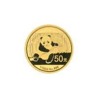 1/10 oz 2014 Chinese Panda Gold Coin
