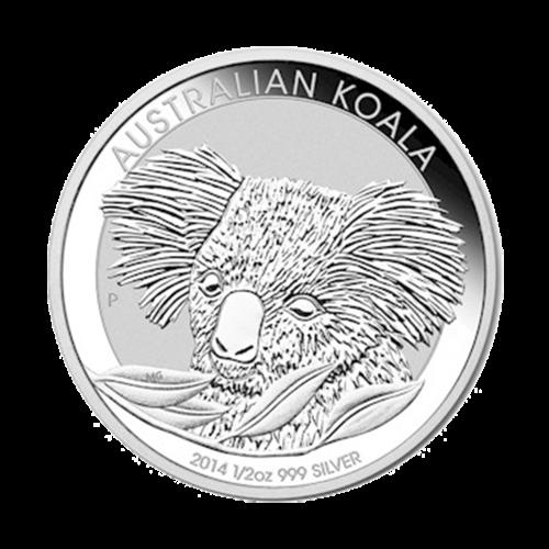 1/2 oz 2014 Australian Koala Silver Coin
