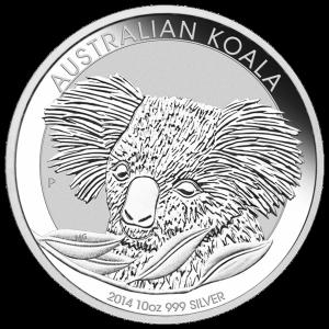 10 oz 2014 Australian Koala Silver Coin