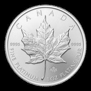 1 oz 2015 Canadian Maple Leaf Platinum Coin