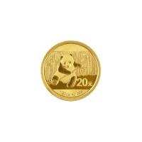 1/20 oz 2014 Chinese Panda Gold Coin