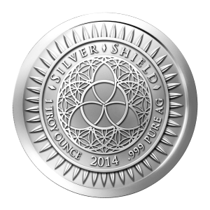 1 oz 2014 New Year's Silver Round