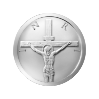 1/2 أوقية 2014 قطعة فضية لشيكل المسيح
