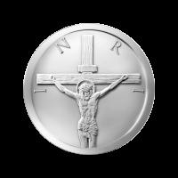 1/2 oz Silbermedaille - Jesus Schekel - 2014