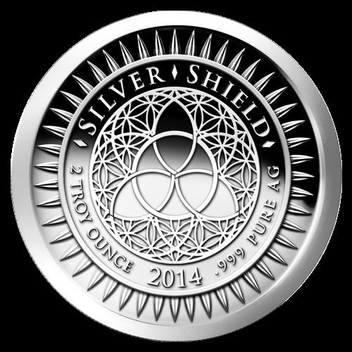 Ronde d'argent de qualité semblable à Belle Epreuve (BE) Nouvel An 2014 de 2 onces