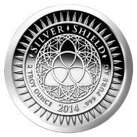 2オンス 2014 ニューイヤー シルバー・プルーフライク・ラウンド