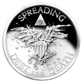 2 oz 2014 Warbird Silver Proof-like Round
