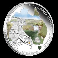 1 oz australische Silbermünze