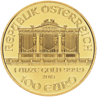 1 oz Random Year Austrian Philharmonic Gold Coin