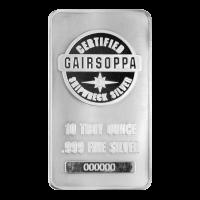 Lingot d'argent certifié Naufrage du S.S. Gairsoppa de 10 onces