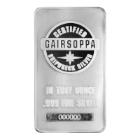 10 oz S.S. Gairsoppa Shipwreck Certified Silver Bar